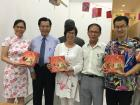 "Representative Francis Liang with Mr. Cham Seng Yin and the three winners of the ""Zhuang-Yuan-Bing"" game"