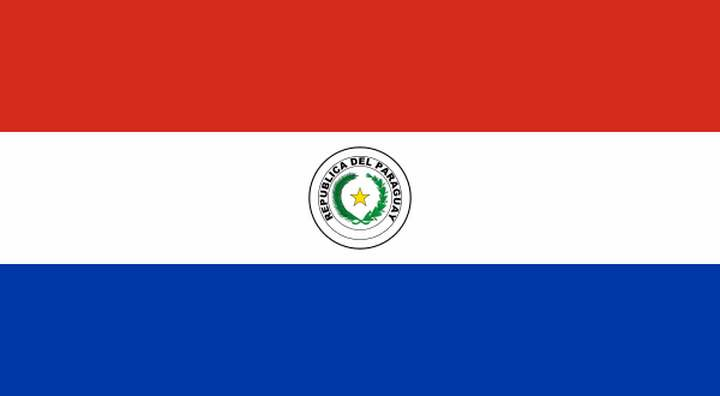 the Republic of Paraguay flag