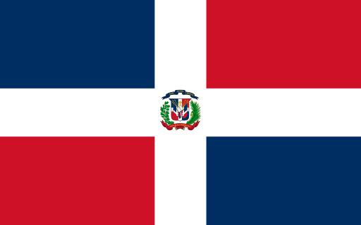 the Dominican Republic flag