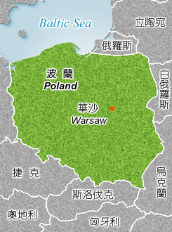 Republic of Poland Map