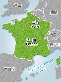 French Republic Map